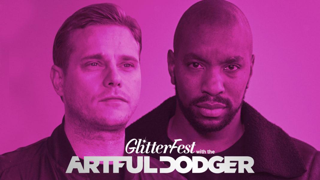 Artful Dodger Poster Glitterfest